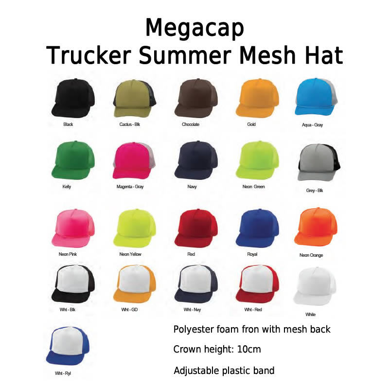 Trucker Summer Mesh Cap